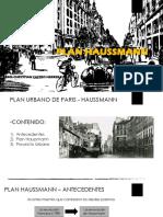 plan haussman