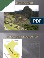 Analisis Macchu Picchu