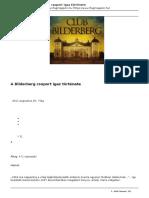 A Bilderberg Csoport Igaz Története