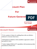Airtel Account Plan Future Generali
