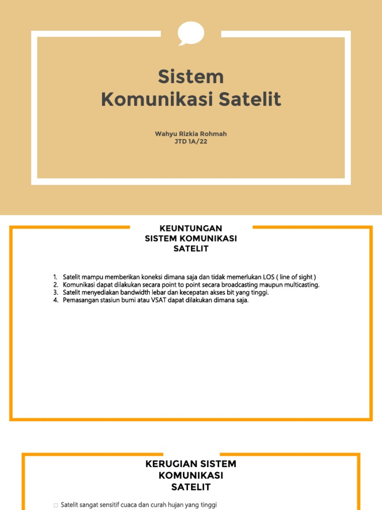 Ppt sistem komunikasi satelit powerpoint presentation id:3235446.