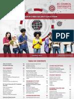 EC Council University Catalog 2017