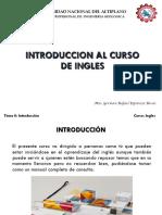 Tema 0 Introduccion Al Curso de Ingles