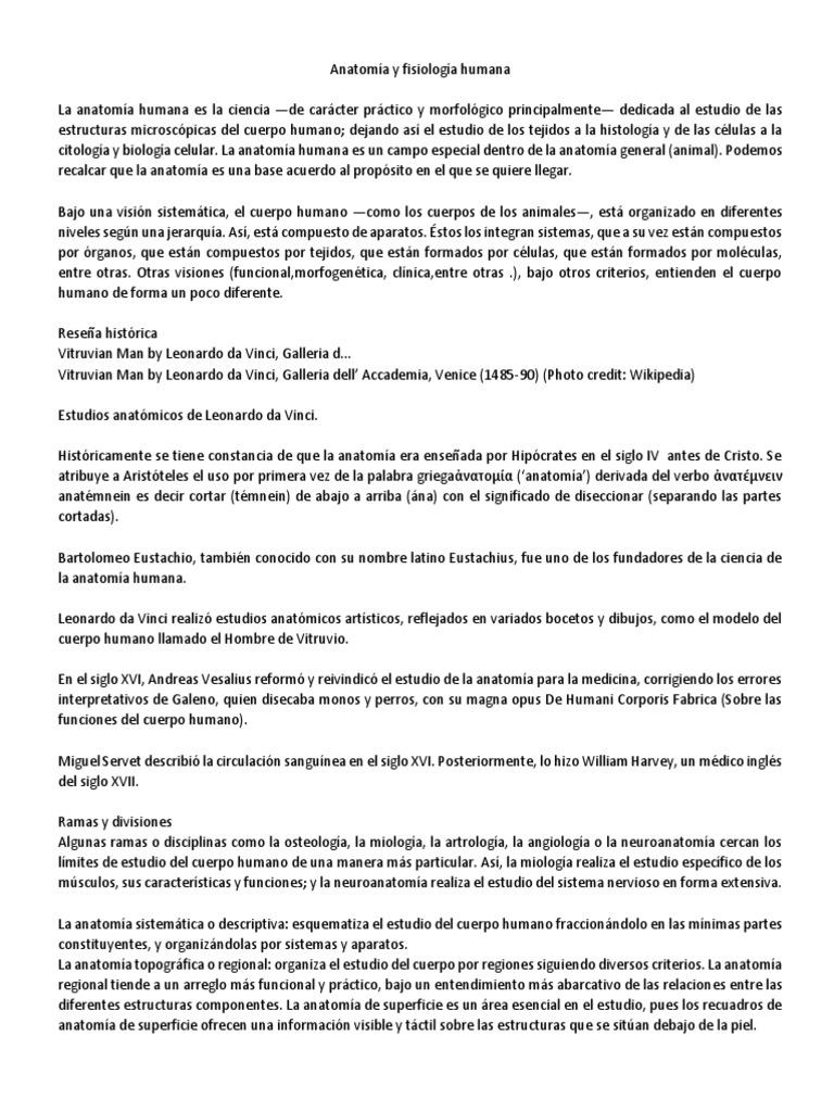 Lujo Anatomía Y Fisiología Significado Foto - Imágenes de Anatomía ...