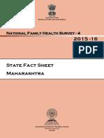 Maharashtra - National Family Health Survey 2015-16 (NFHS-4)