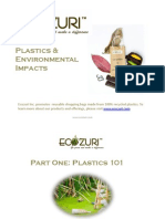 Plastics and Environment by Ecozuri