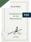 LÓG Fundamentos de Las Matematicas (Hilbert)