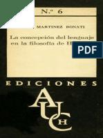 La Concepción Del Lenguaje en La Filosofía de Husserl