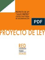 Proyecto de Ley Julio Fretes Contra Toda Forma de Discriminacic3b3n