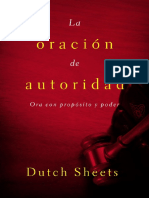 La Oracion de Autoridad - Dutch Sheets