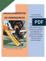 Procedimientos de Emergencia Eia