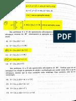 Algebra Linear  lista