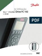 Manual Utilizador FC102 1.1 90kw Pt