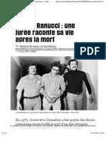 (1) Affaire Ranucci