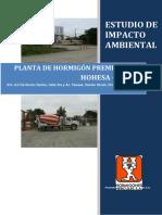 Estudio Impacto Ambiental HOHESA