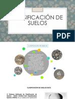 Informe N°01. Clasificación de Suelos