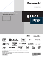Manual Panasonic Viera TX-P42GT20E