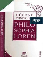 _Philo Sophia Loren - Dücane Cündioğlu