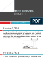 Engineering Dynamics Lec 11