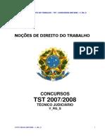 06.1 - Noções de Direito Do Trabalho - Tst