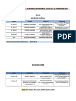 Cronograma Ponencias i Congreso Ajempol. Gijon 2017