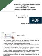 Presentación Diseño Sistemas SM