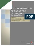 Informe Maqueta Resistencias Condesadores Diodos Puentesdediodos Final
