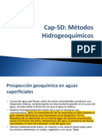 PG5D Estudios Hidrogeoquímicos