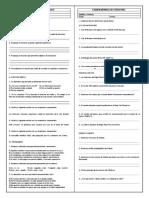 Examen Mensual de Lenguaje Ceprunsa