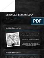 Gerencia Estratégica - Gestión Empresarial