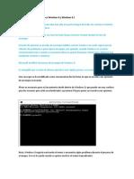 Como Habilitar La Tecla F8 en Windows 8 y Windows 8.1