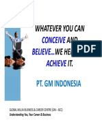 Company Profile PT GM Indonesia