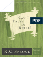 Can I Trust the Bible_ - R. C. Sproul