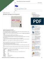 About Job_ Buku-Buku SCM (Supply Chain Management)