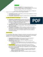 ResumenCH1-CH4 Comportamiento del Consumidor