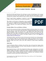 120816 Defence Market Profile Brazil