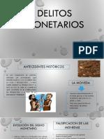 DELITOS MONETARIOS EXPONER
