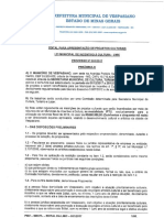 Edital de Lei Municipal de Incentivo Cultura