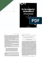 8- Vazquez - La Investigacion Sociocultural