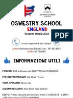 OSWESTRY 2 WEEKS 2018