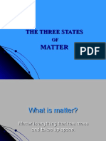 The Three States of Matter 5-1
