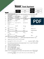 Ch # 9 (Test # 1) 11-12-15