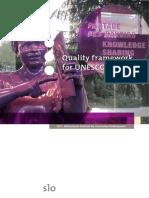 Quality Framework for UNESCO Schools