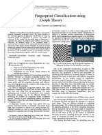 Automatic Fingerprint Classification Using Graph Theory