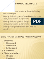 Chapter (4) Wood Products