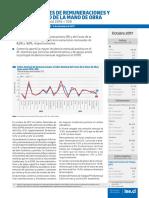 Boletín Índices de Remuneraciones y Costo de La Mano de Obra (Ir Icmo) Octubre 2017