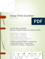 Sleep Time Duration