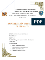 Identificación Estructural de Farmacos (2)