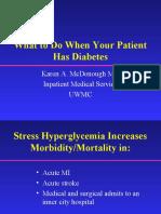 In Patient Diabetes r 1 Lecture