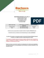 Bachoco Reporte Anual2012